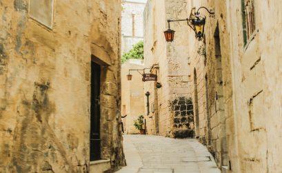Fotografie de strada in Mdina, Malta